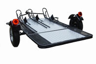Trinity 3-Rail MT3 Motorcycle Trailer