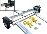 Galvanized EZ Haul Car Tow Dolly with Hydraulic Brakes