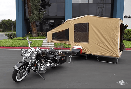 Motorcyclerail Ters By The USA Trailer Store