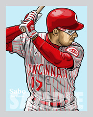 "Digital Illustration of an All-Time fan favorite, ""Spuds"" Chris Sabo!"