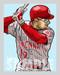 """Digital Illustration of an All-Time fan favorite, """"Spuds"""" Chris Sabo!"""