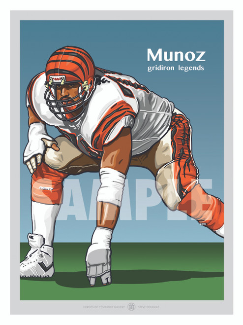 One of Football's All-Time Greats Hall of Famer Anthony Munoz!