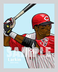 Cincinnati All-Time Great and Hall of Famer Barry Larkin!