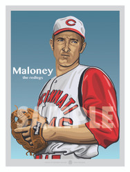 Cincinnati All-Time Great and owner of TWO No Hitters, Jim Maloney!