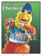 Illustration of baseball's All-Time great mascots and entertainers The Famous Chicken!