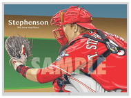 Illustration of minor league great Tyler Stephenson!