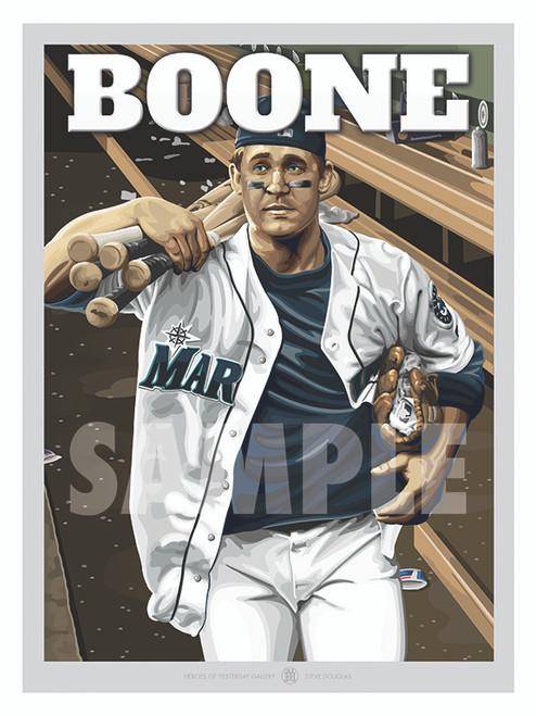 Illustration of Seattle fan favorite Bret Boone!