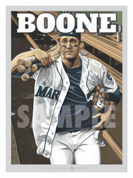 Illustration of Seattle fan favorite Bret Boone!