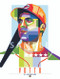 """POP ART series of All-Star and Fan Favorite Cincinnati Great Joey Votto. 12"""" x 16"""" prints are numbered to only 100."""