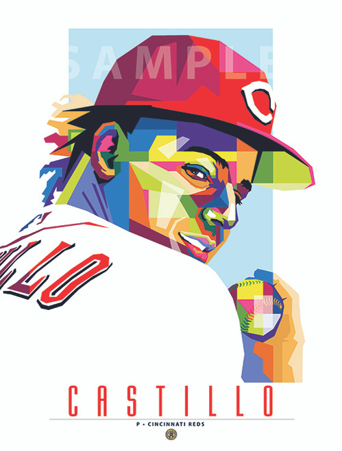 "POP ART series of Cincinnati Luis Castillo. 12"" x 16"" prints are numbered to only 100."