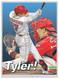 Duel action illustration of Cincinnati's rookie sensation and fan favorite catcher Tyler Stephenson!