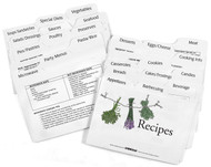 Clear Solutions, LabelEZE Recipe Cards - title card with illustration