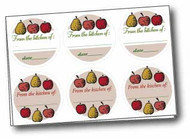 Fruit Canning Labels