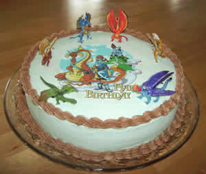 Superb Knight Birthday Cake Thepartyworks Funny Birthday Cards Online Eattedamsfinfo