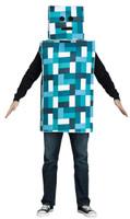 Blue Pixel Robot Adult Costume