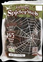 Creepy Black Spider Web (165 Square Feet)