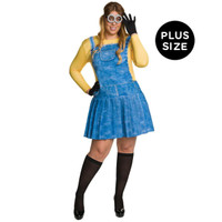 Minions Movie: Female Minion Adult Costume Plus