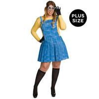 Minions Movie: Female Minion Adult Costume Plus