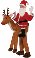 Santa Ride a Reindeer Child Costume One+AC0-Size