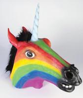 Rainbow Unicorn Mask