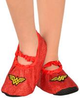 Wonder Woman - Classsic Glitter Slipper Shoes Child One Size (7-11)