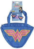 Wonder Woman Purse & Hair Clips Set
