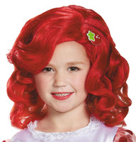 Strawberry Shortcake Deluxe Child Wig