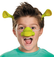 Shrek Nose & Ears Kit