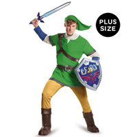 The Legend of Zelda: Link Deluxe Adult Costume Plus