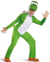 Super Mario: Yoshi Deluxe Adult Costume Plus