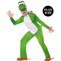 Super Mario: Yoshi Deluxe Adult Costume Plus 2