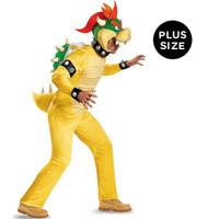 Super Mario: Bowser Deluxe Adult Costume Plus 2