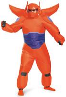 Big Hero 6: Red Baymax Inflatable Adult Costume