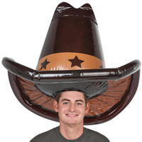 Inflatable Cowboy Hat