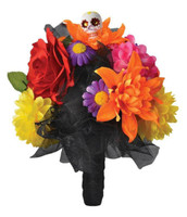 Day Of The Dead Flower Bouquet