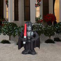 Small Star Wars Darth Vader Airblown Decoration For Outside