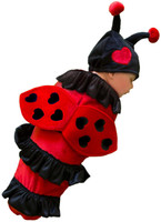 Lexi the Ladybug Infant Swaddle Costume