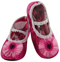 Pink Spider-Girl Slipper Shoes For Toddlers