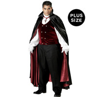 Gothic Vampire Elite Collection Adult Plus Costume