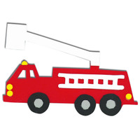 Foam Fire Truck Activity Kit