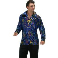 Dynomite Dude Disco Shirt Adult Costume