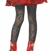 Spider Web Child Tights