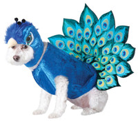 Peacock Pet Costume