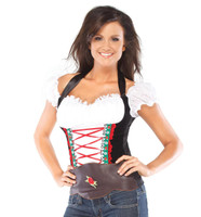 Beer Girl Bustier Adult Costume