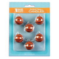 Sports Candle Basketball