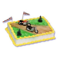 Motorcycle Cake Kit
