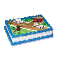 Emergency Vehicles Cake Kit