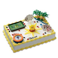 Gaming Casino Cake Kit