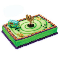 Scooby & Shaggy with Mystery Machine Cake Kit