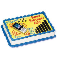 Cell Phone Cake Kit with Batteries
